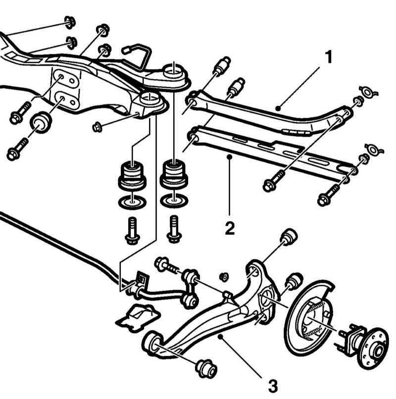 1 — Верхняя поперечная тяга